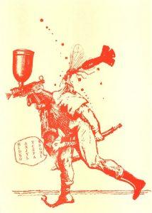 מתי גרינברג, תיאטרון האבסורד, תחריט אקווטינטה, לונדון, 1970