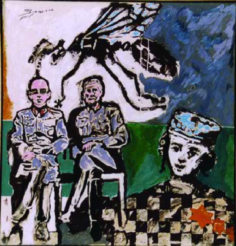 מתי גרינברג/ חקירת הילד היהודי / מתי גרינברג / שמן / 1966-69