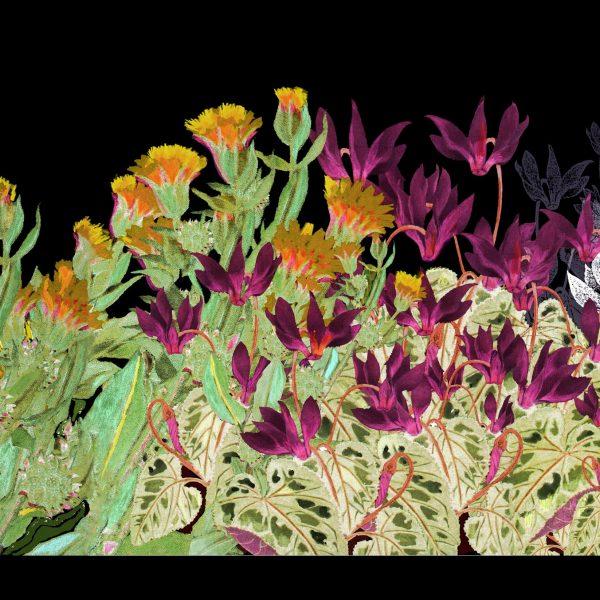 מתי גרינברג / צמחים בלילה / מוזיאון בית ראובן